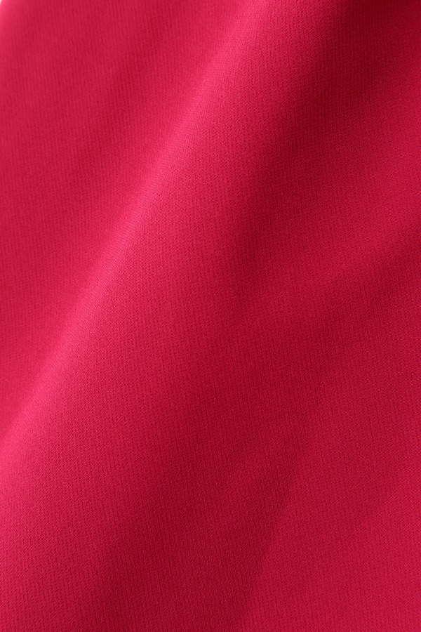 《BLANCHIC》カラーダブルクロススリットワイドパンツ