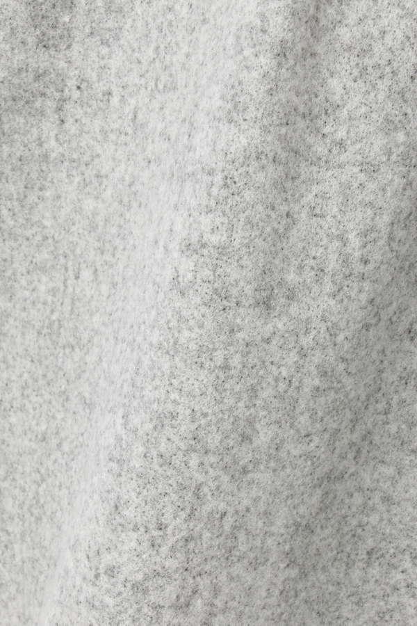ウールブークレーパール付きワンピース