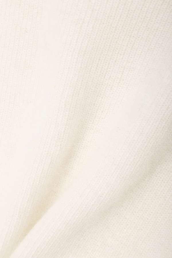 【先行予約_9月下旬入荷予定】裾レースアンゴラスカラップニット