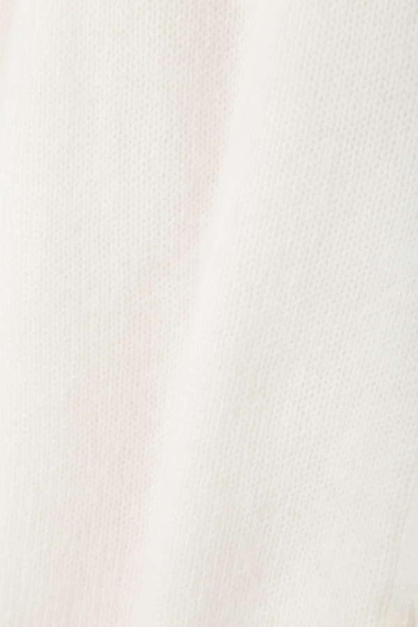 【美人百花 12月号掲載】【cancam 12月号掲載】アンゴラ ビジュー釦Vカーディガン