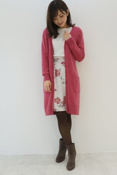 【cancam 11月号掲載】ロングカーディガン