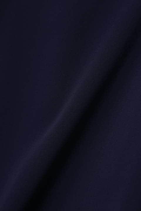 エアリーダブルクロスバックチェーンパフスリーブブラウス