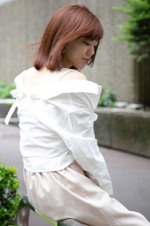 《BLANCHIC》ライトミリタリーシャツ