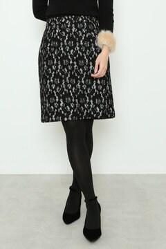 【美人百花 1月号掲載】レースボンディングタイトスカート