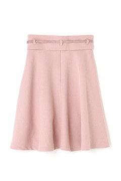 コルセットベルト付きフレアースカート