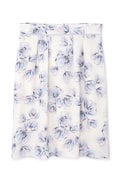 ぼかしフラワープリントタイトスカート