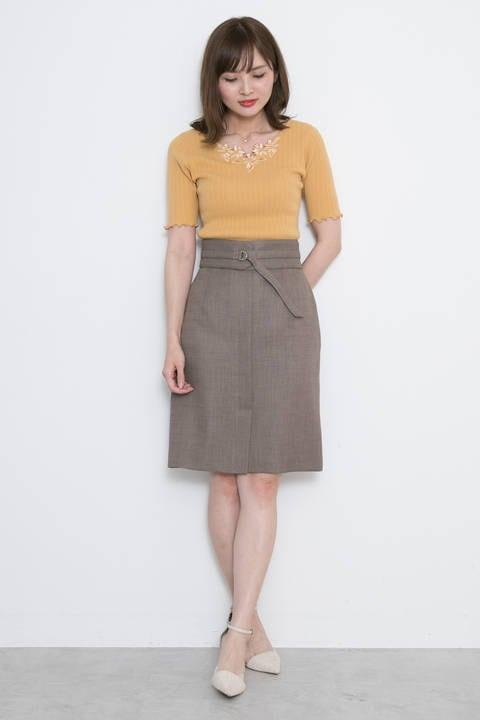 【美人百花6月号掲載】ルージュブッチャーコルセットタイトスカート