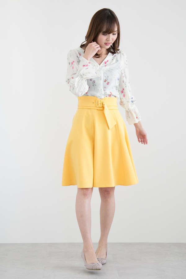2wayフレアースカート