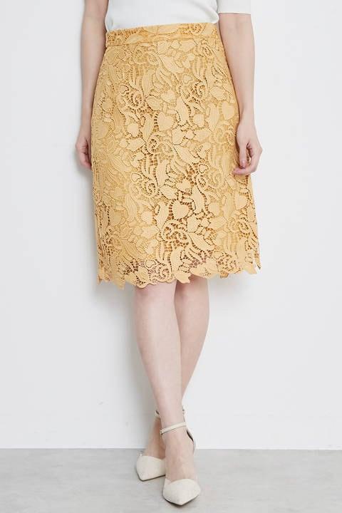 【美人百花6月号掲載】リーフハートケミカルスカートⅡ