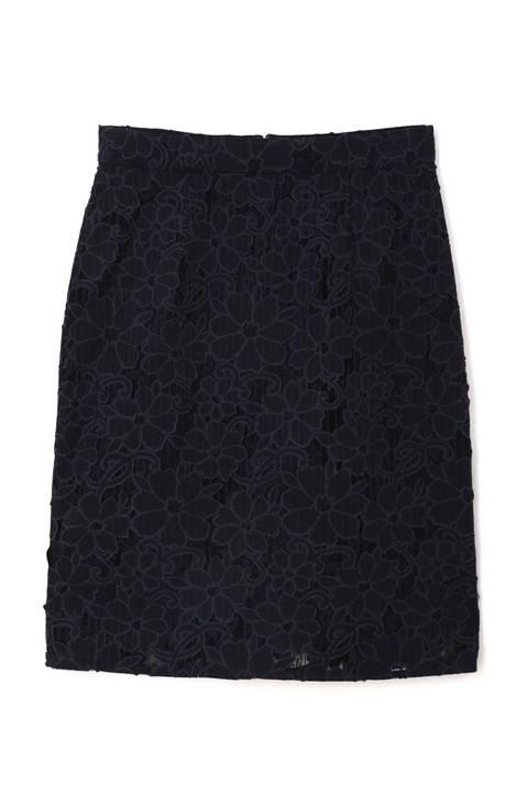 オパールレースタイトスカート
