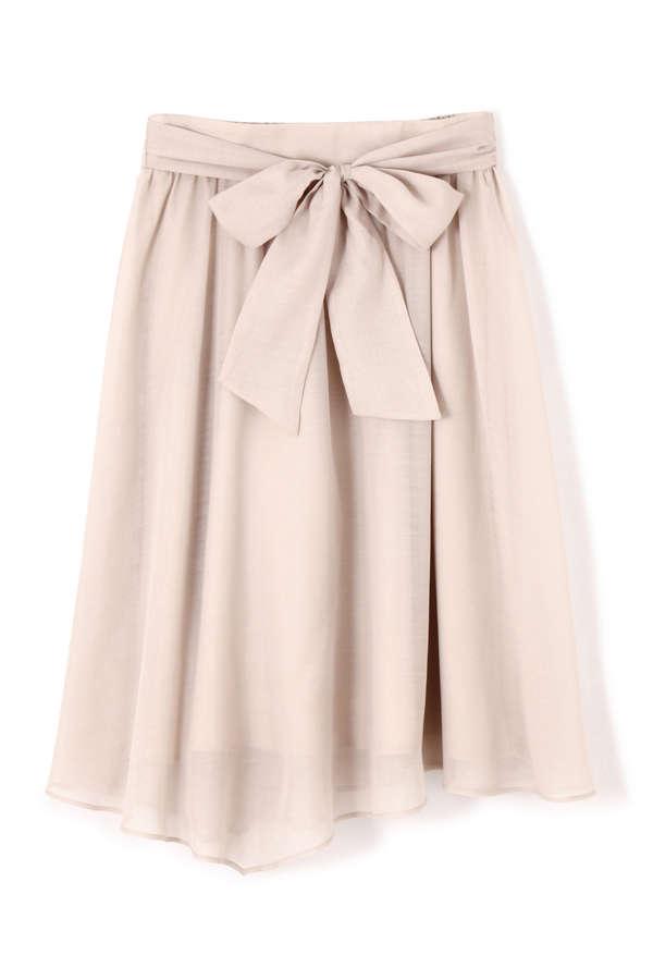 ブライトスパンボイルアシメスカート