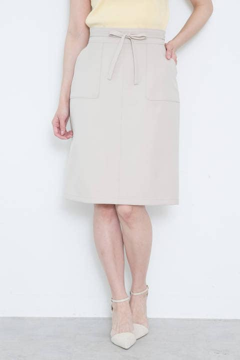 【美人百花6月号掲載】ツイルカーゴスカート