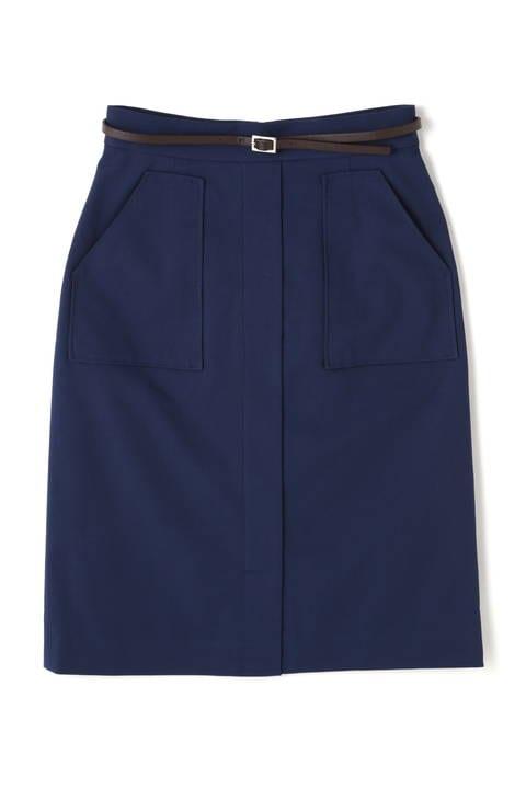 アーミージャガードポケットタイトスカート