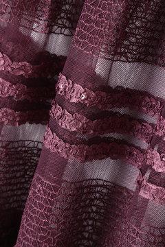 《EDIT COLOGNE》スパンコールティアードスカート