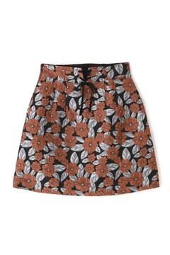《EDIT COLOGNE》ミニジャガードスカート