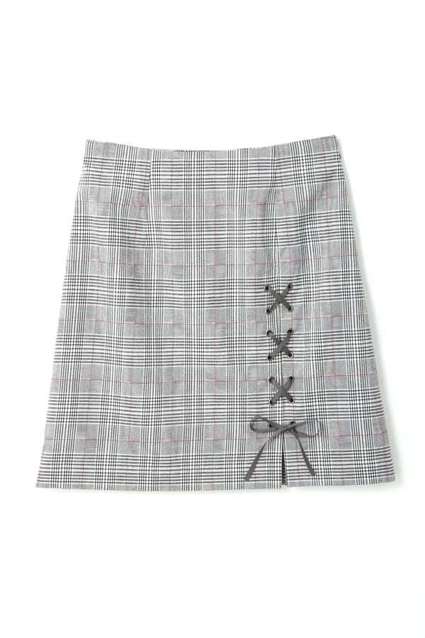 《EDIT COLOGNE》ボックスタックレースアップスカート