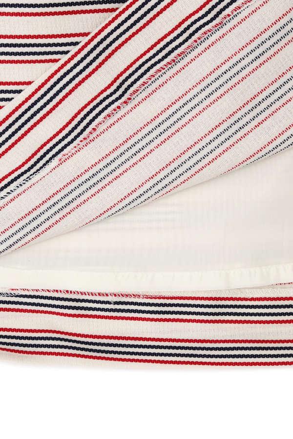 《EDIT COLOGNE》ボーダーミニスカート