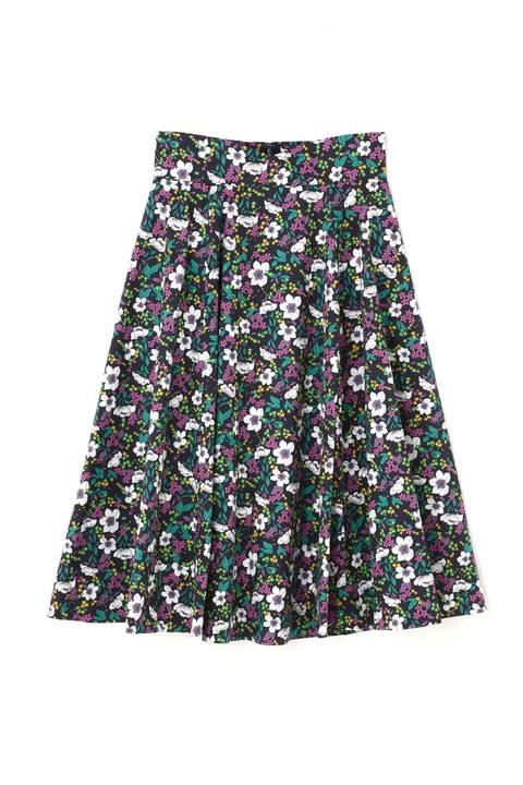 《EDIT COLOGNE》フラワーフレアースカート