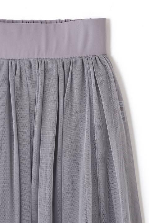 《BLANCHIC》チュールマキシスカート