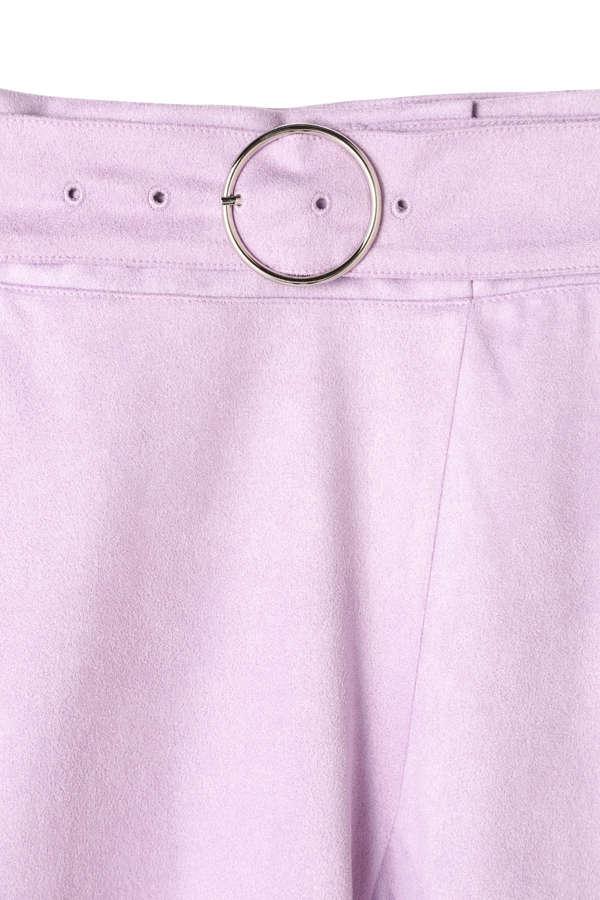 《BLANCHIC》イレギュラースエードスカート