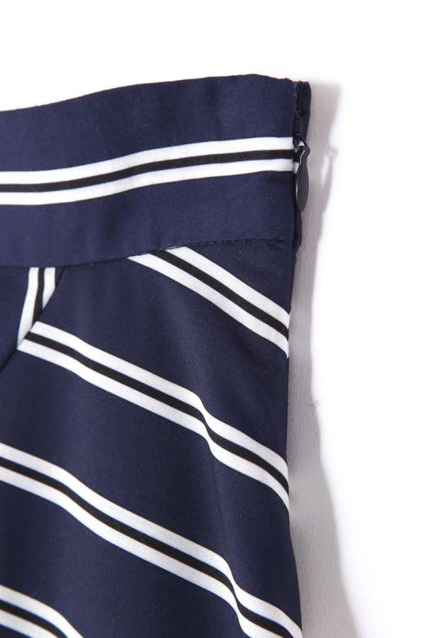 《BLANCHIC》ミックスストライプスカート