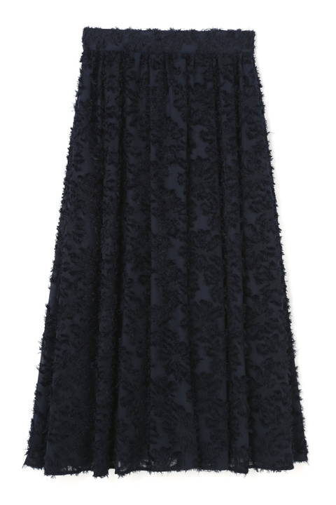 《BLANCHIC》フラワージャガードスカート