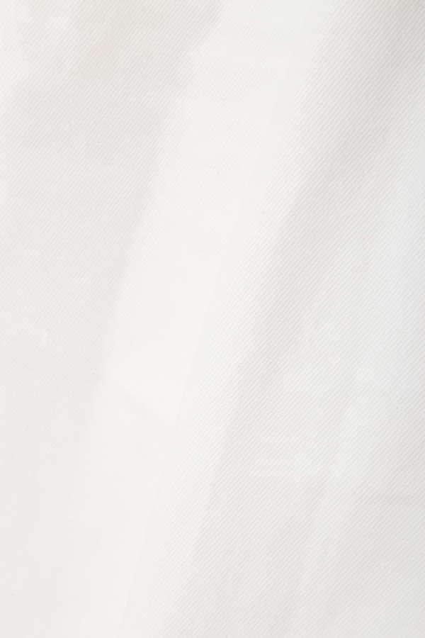 《EDIT COLOGNE》レースアップイージーホワイトパンツ