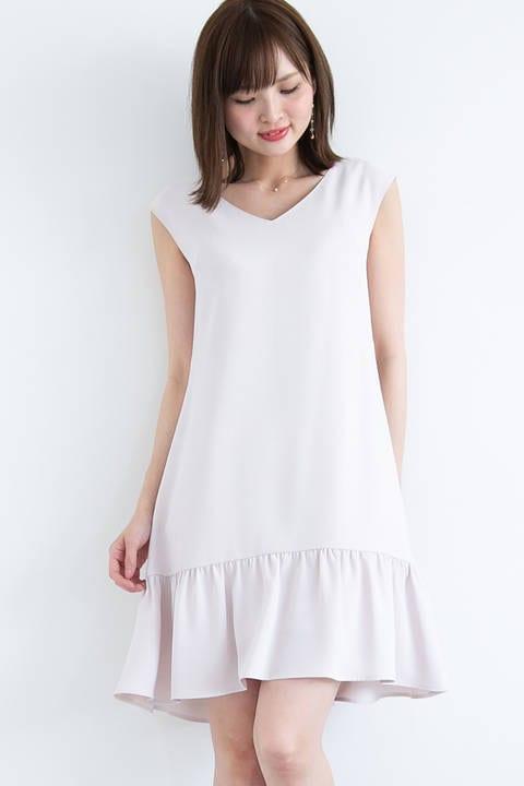 《Lou Lou Fee》ペプラムサックドレス