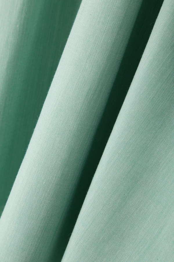 カラーシャンブレーリボンワンピース