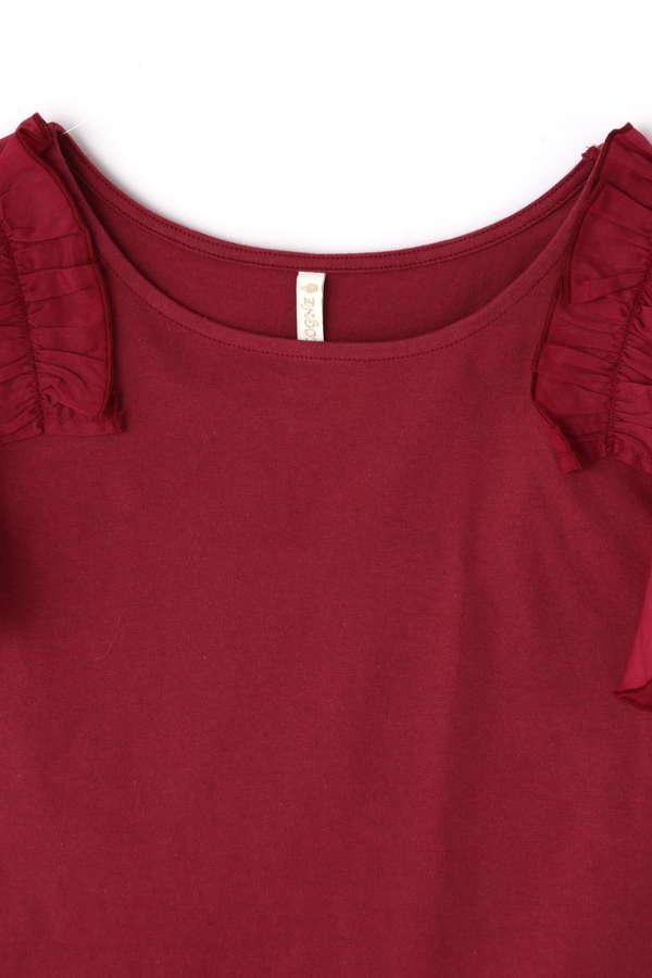 《EDIT COLOGNE》ローンフリルTシャツ