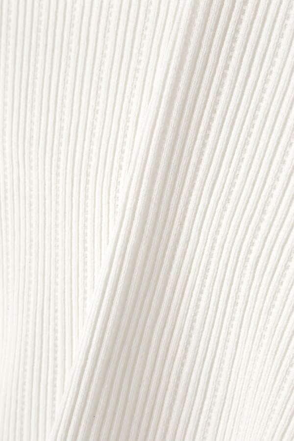 《EDIT COLOGNE》バックフリルニット