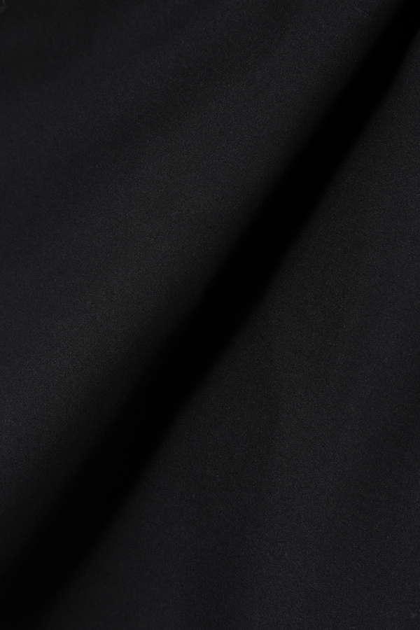 ドライミックス衿付きビジューブラウス