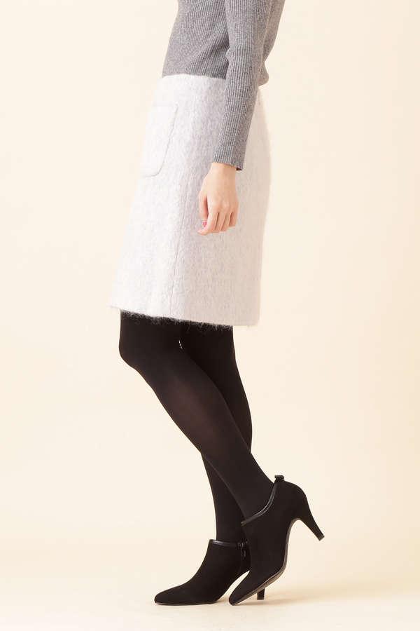 【CanCam1月号掲載】シャギー2ポケット台形ミニスカート