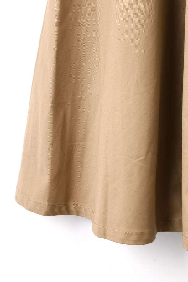 《EDIT COLOGNE》サスペンダーチノフレアースカート