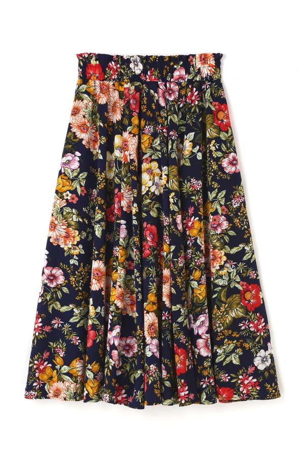 《EDIT COLOGNE》デシンフラワースカート