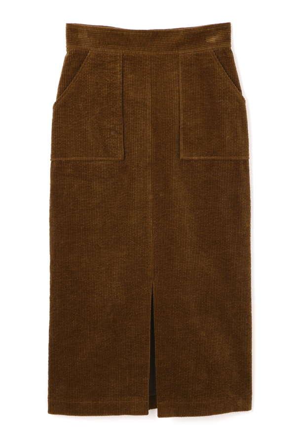 《BLANCHIC》太コールタイトスカート