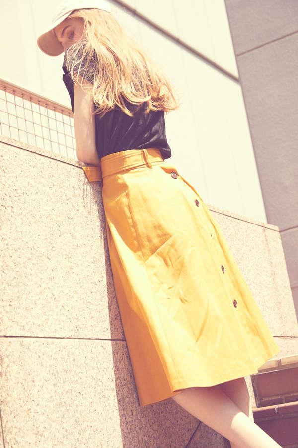 《BLANCHIC》2WAYチノフレアスカート