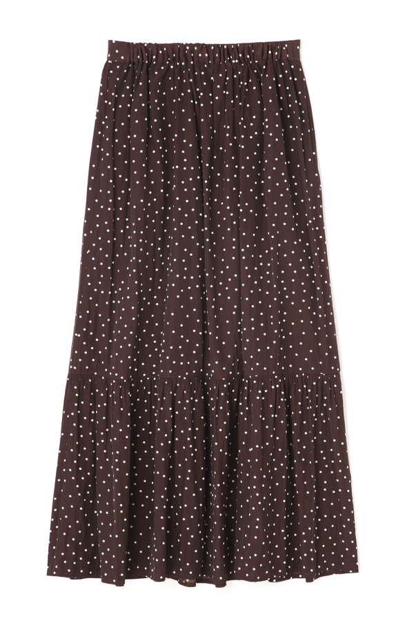 《BLANCHIC》ランダムドットスカート