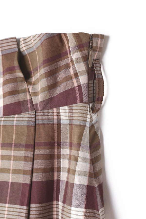 《BLANCHI》コットンタイプライタースカート