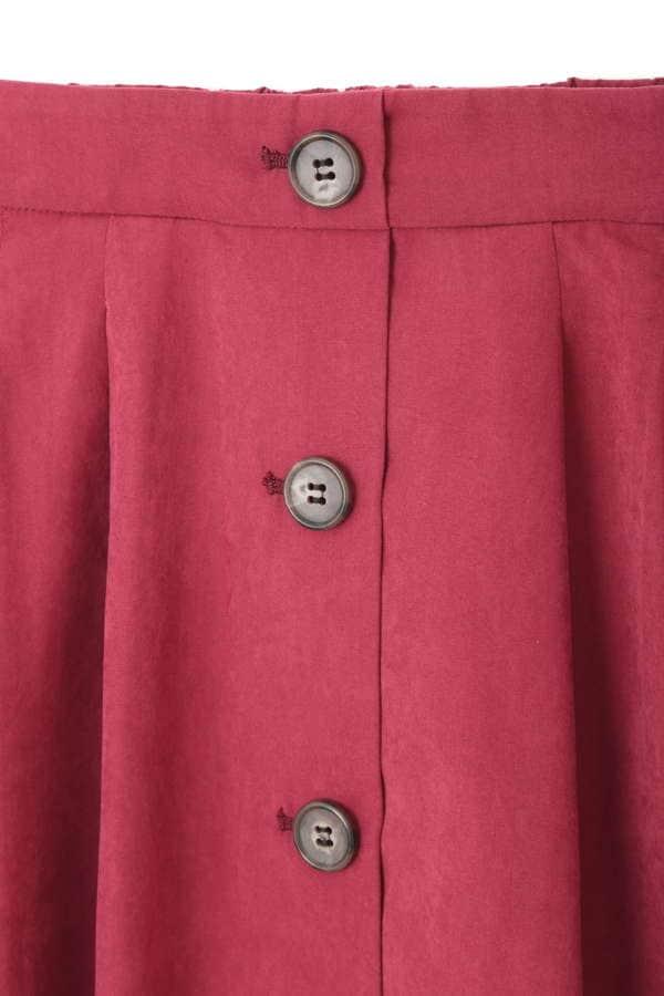 《BLANCHIC》ライトスエードミディフレアスカート