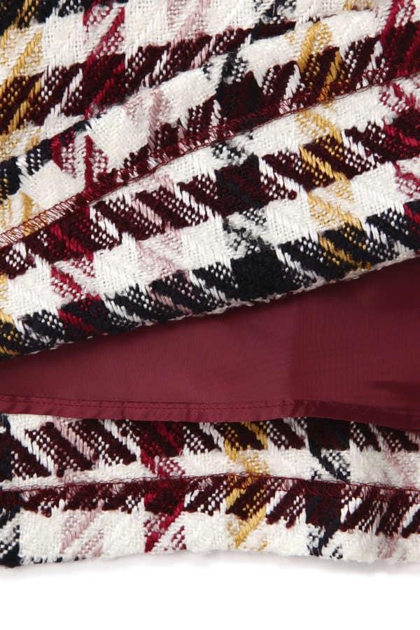 2Wayチェックジャンパースカート