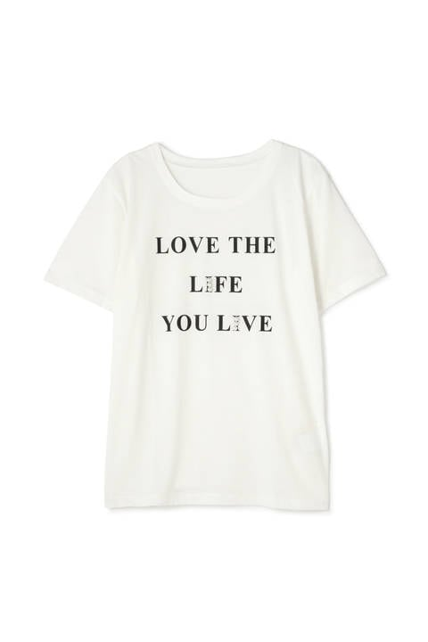 《EDIT COLOGNE》LOVE THE LIFE Tシャツ