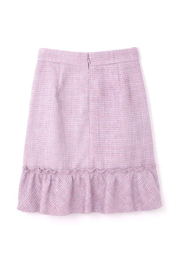 ファンシーツィードタイトスカート