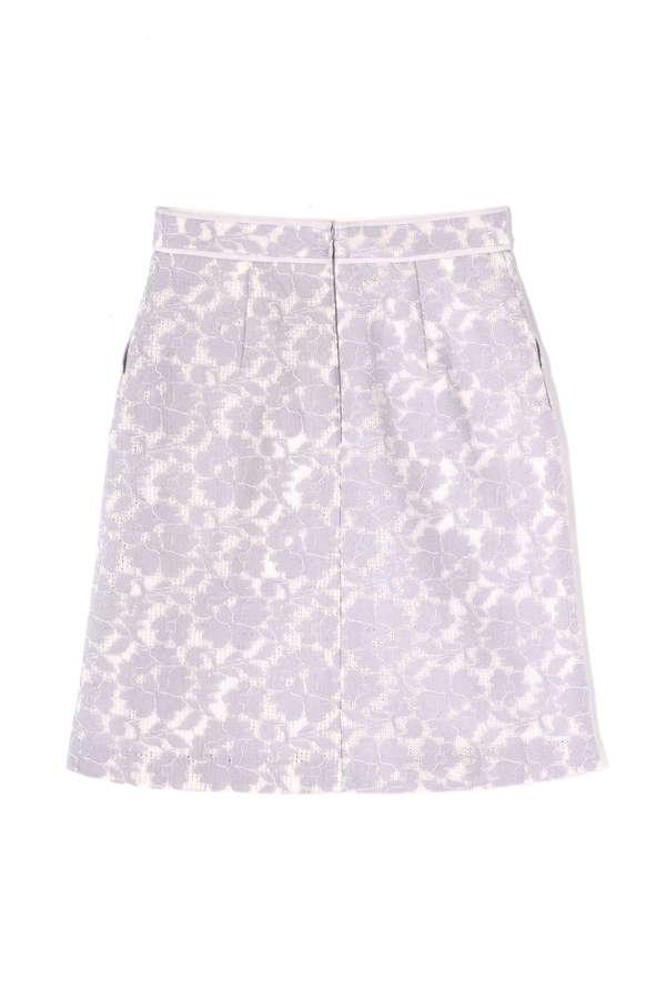 レースボンディング2ポケットスカート