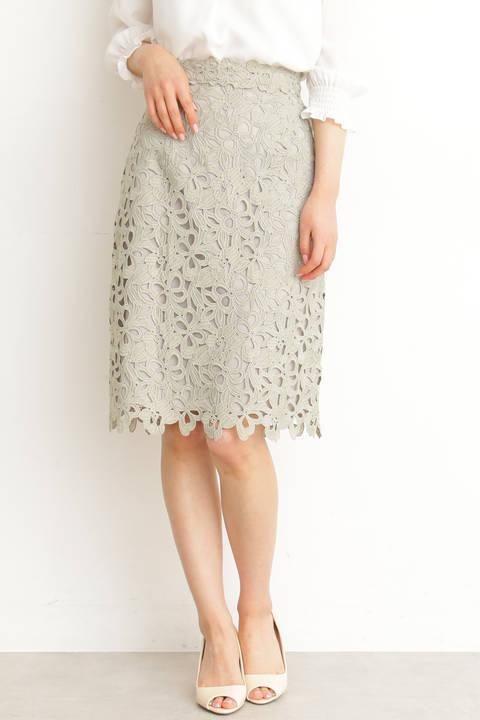 リボンケミカルタイトスカート
