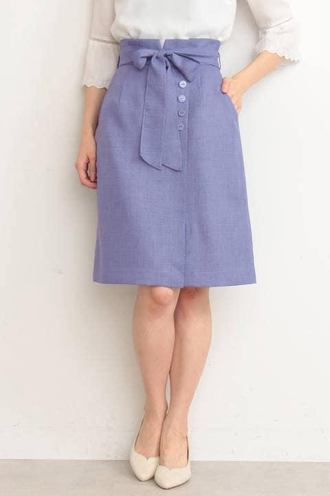 ルージュブッチャーリボンタイトスカート