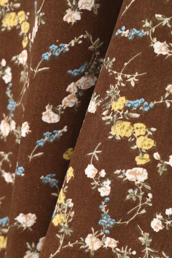 小花マキシスカート