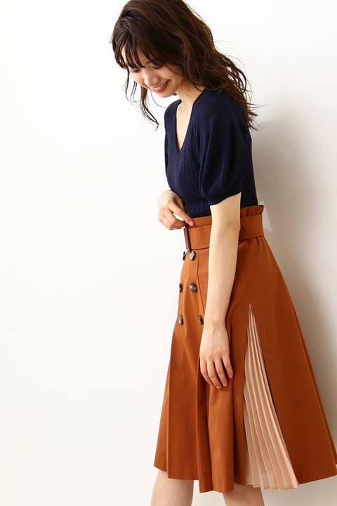 トレンチツイルスカート