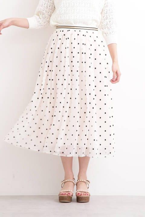 《EDIT COLOGNE》チュールドットスカート