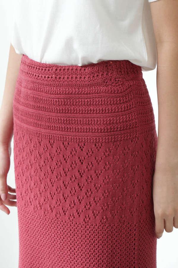 《CanCam 5月号掲載》《EDIT COLOGNE》クロシェスカート